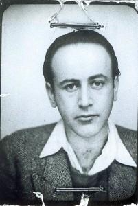 Paul Celan, Passphoto aus dem Jahr 1938