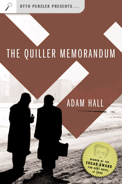 "Buchtitel ""The Quiller Memorandum"" (USA, 2004)"