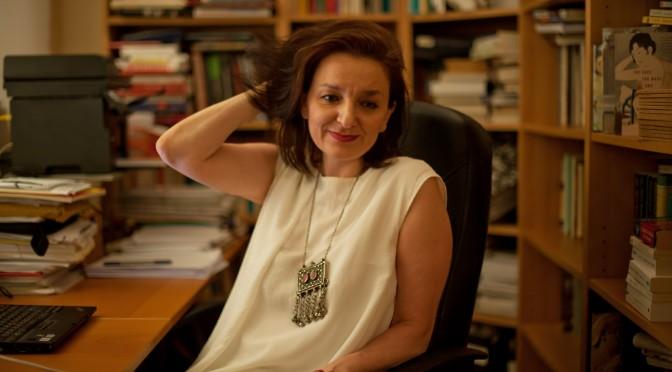 Die Soziologin Eva Illouz 2015. Fotograf: David Vinocur