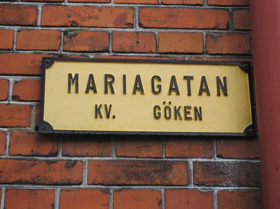 Schwedens Baker Street: Die Mariagatan in Ystad. Polizeikommissar Kurt Wallander wohnt hier.
