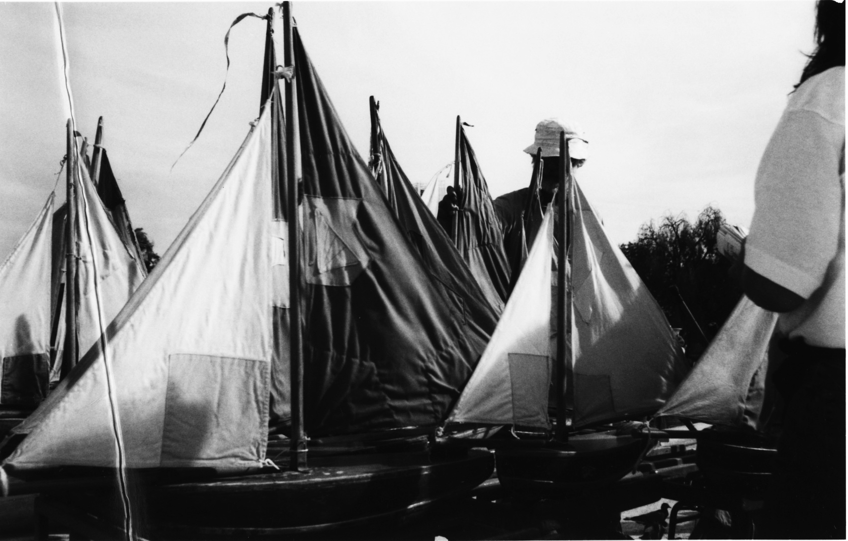 Schiffchen im Jardin du Luxembourg Paris (c) O. Wieters 1997